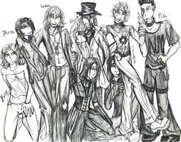 My Vamp Boys... by ShadyMeadows