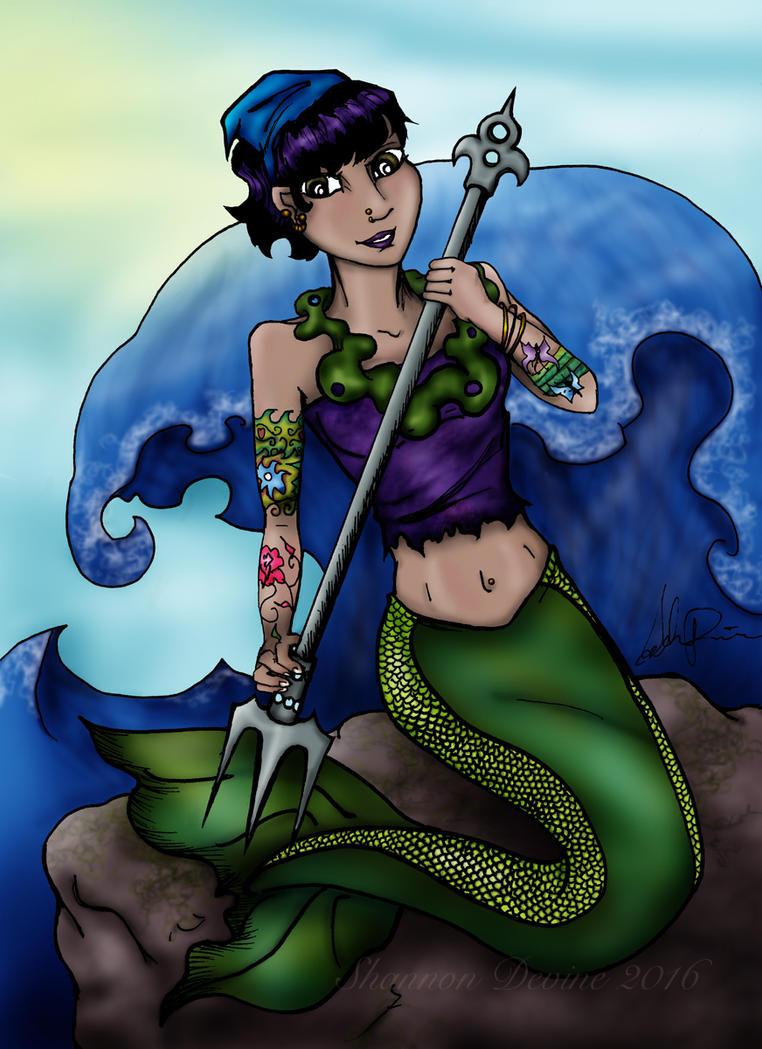Modern Mermaid by ShadyMeadows