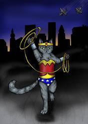 Wonder Kitty by ShadyMeadows