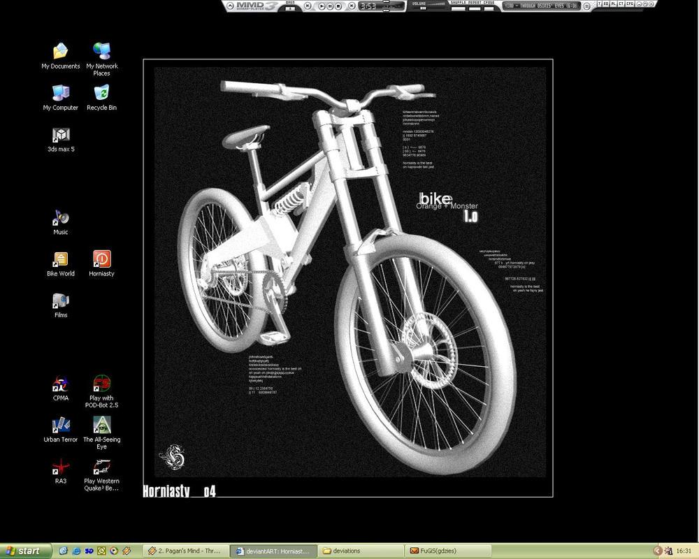 My desktop by Horniasty