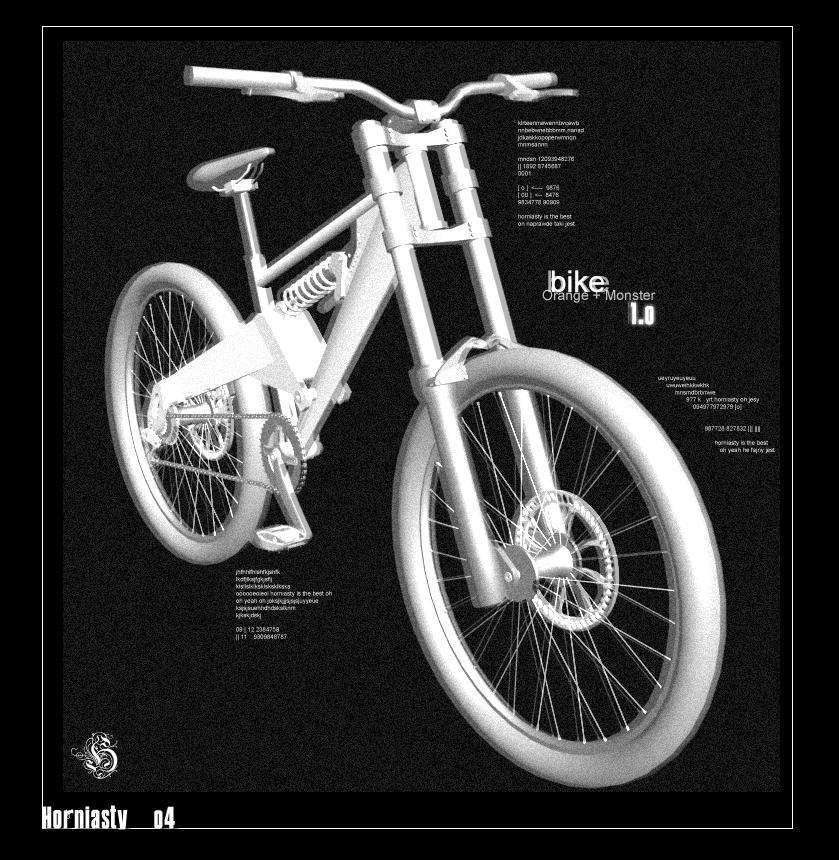 Bike: Orange + Monster 1.0 by Horniasty