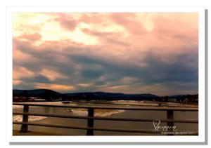 View off the bridge