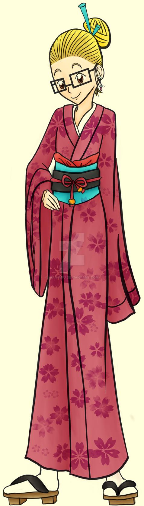 New Year's Kimono by Ina-Haru