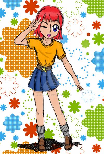 Akari the tomboy by Ina-Haru