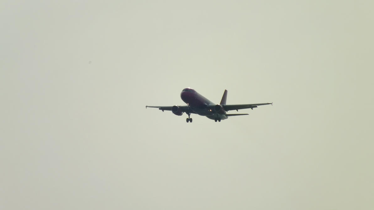 WIZZ AIR Airbus A320-232 WZZ7308 landing at IEV by johnpenko