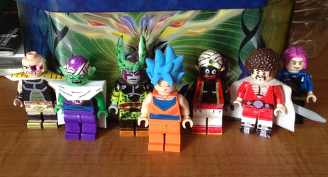 LEGO Dragonball Z minifigures