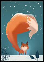Long fox tail by XnBook