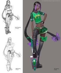 Commission: Krystal by Wen-M