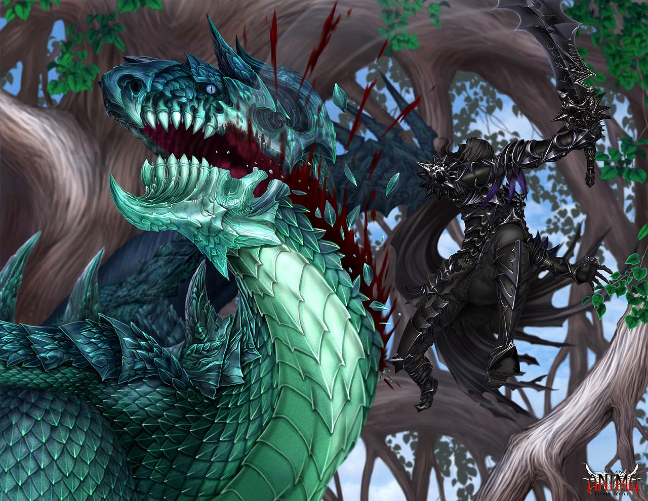 Anima: Black Lion by Wen-M