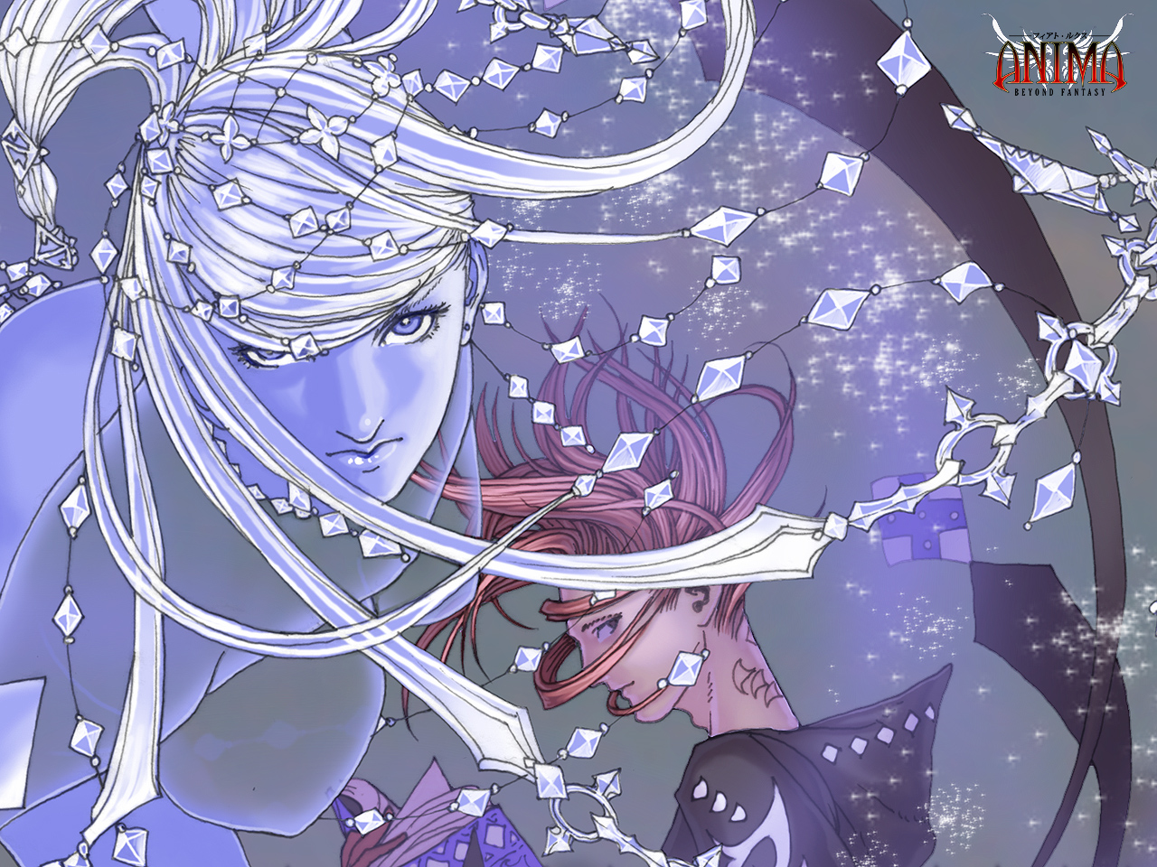 wallpaper: Ice Goddess by Wen-M