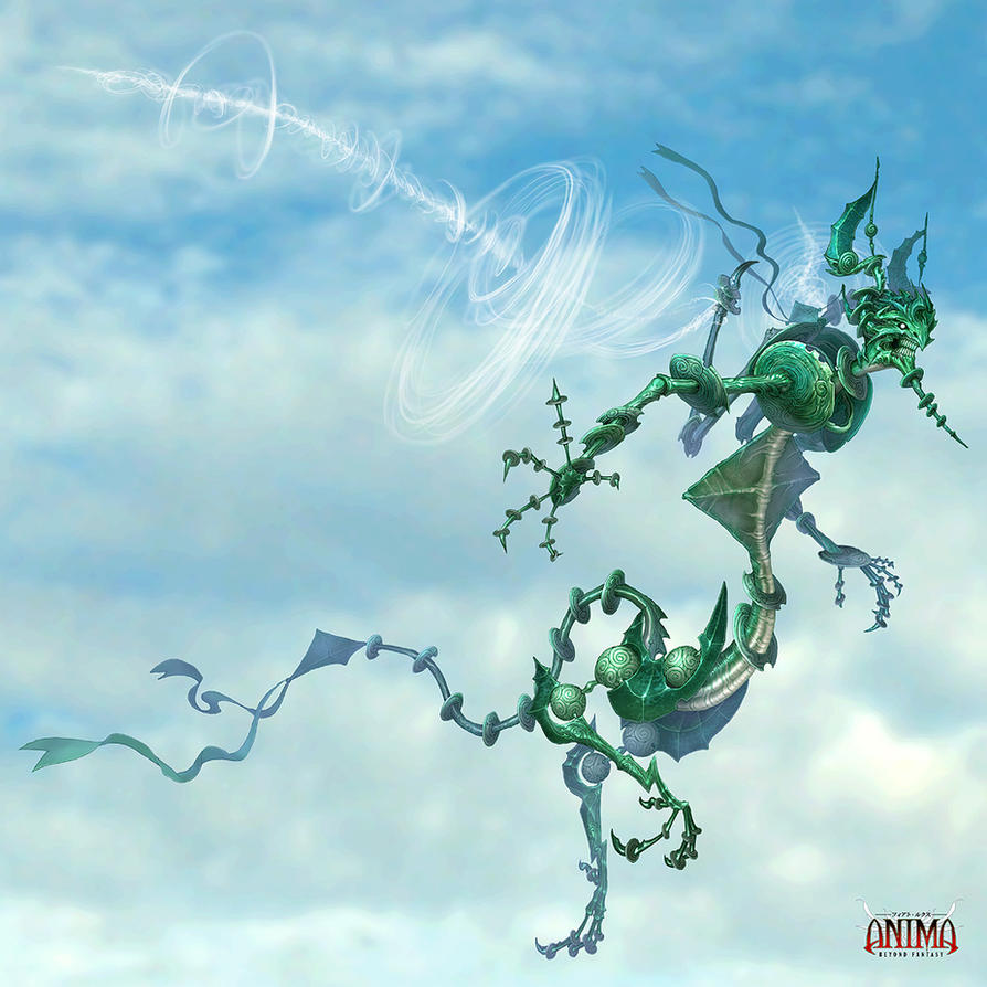 Anima: WindDemon by Wen-M