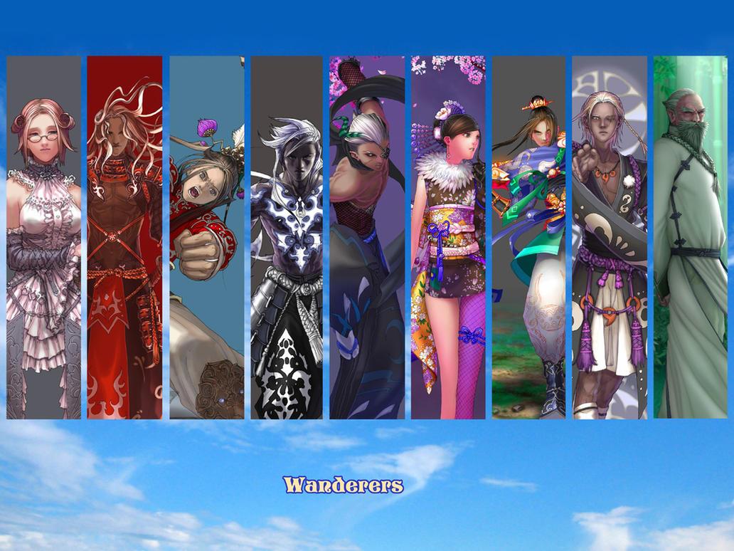 Wallpaper: Wanderers by Wen-M