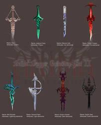 Anima: Bella's Daggers set 2 by Wen-M