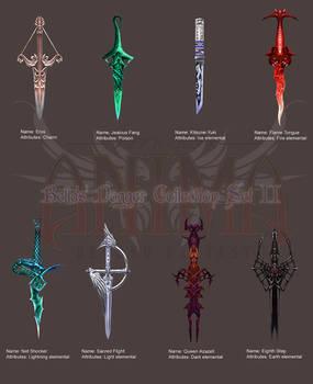 Anima: Bella's Daggers set 2