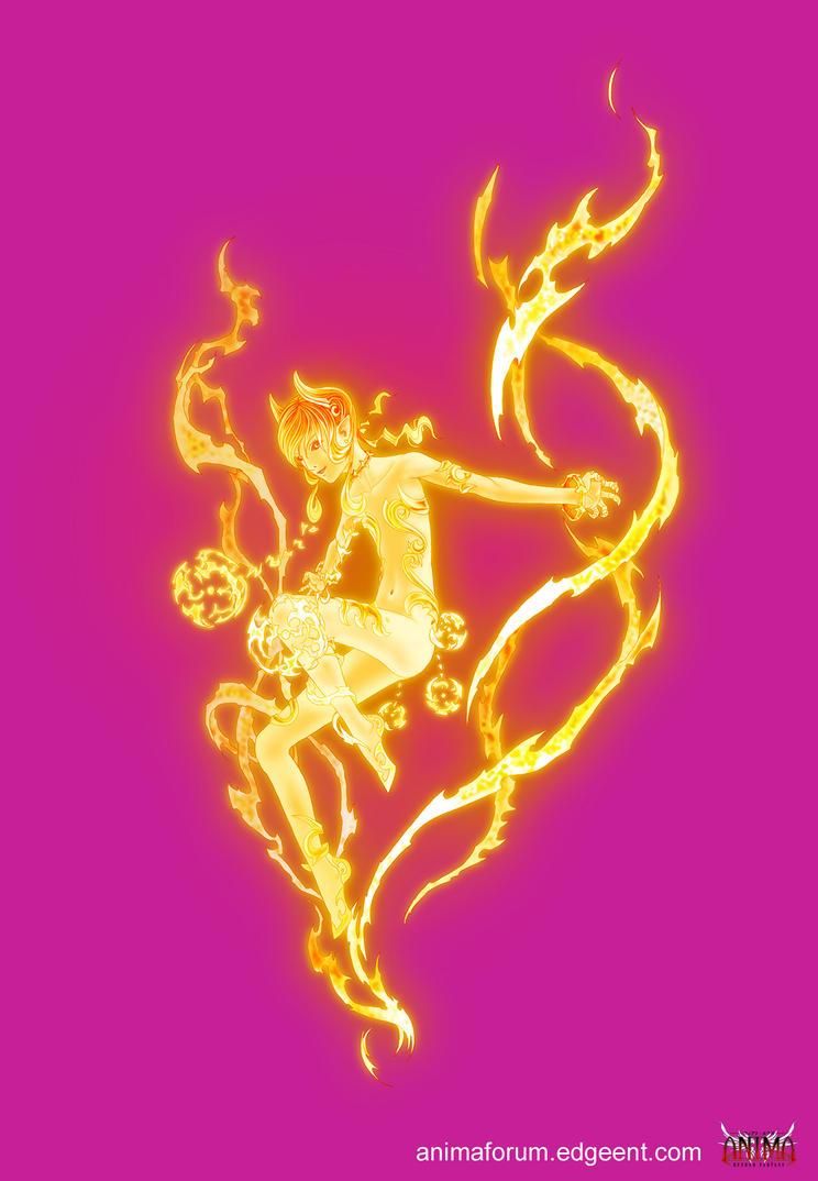 Anima: Fire fairy by Wen-M on DeviantArt