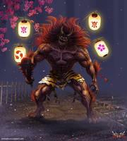 Anima:  Lantern Oni by Wen-M