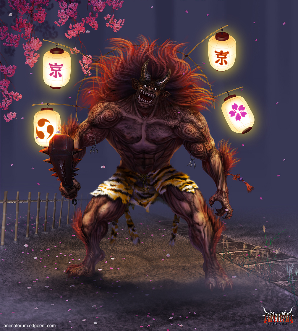 Anima:  Lantern Oni by Wen-M