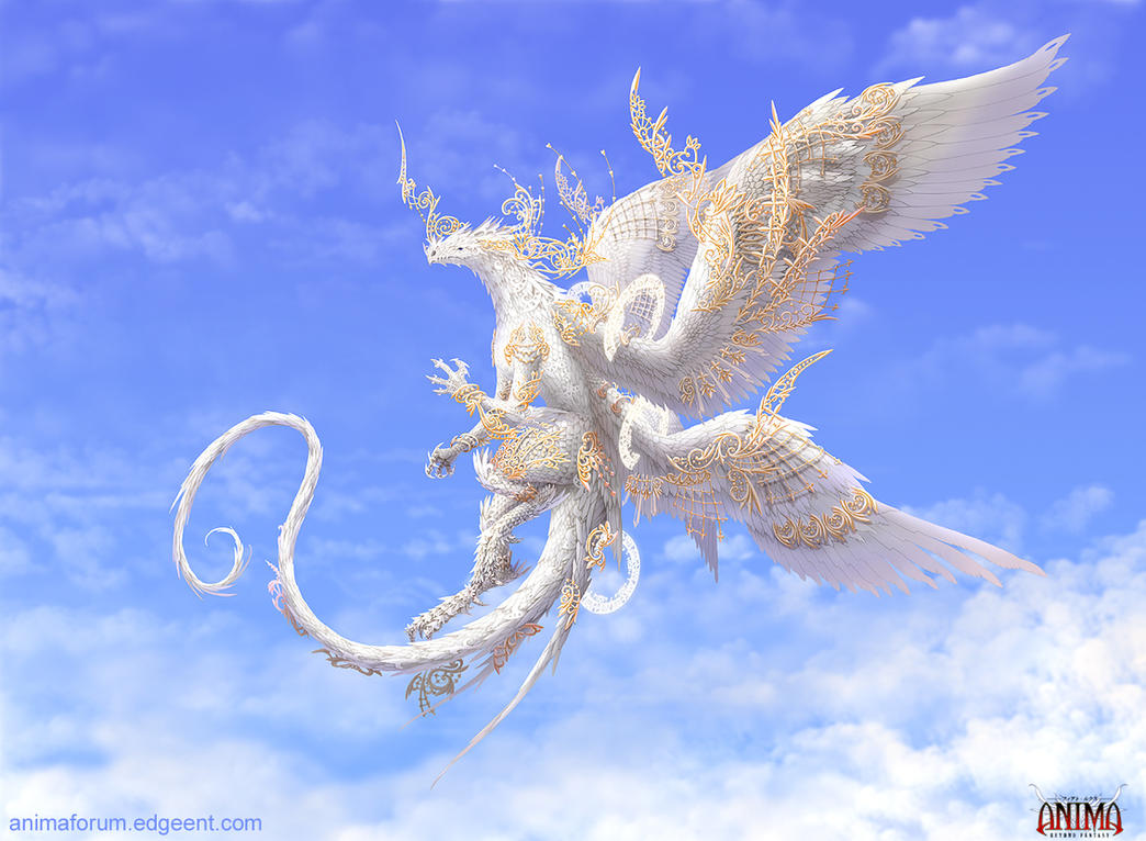 Anima: Angelus  dragon by Wen-M