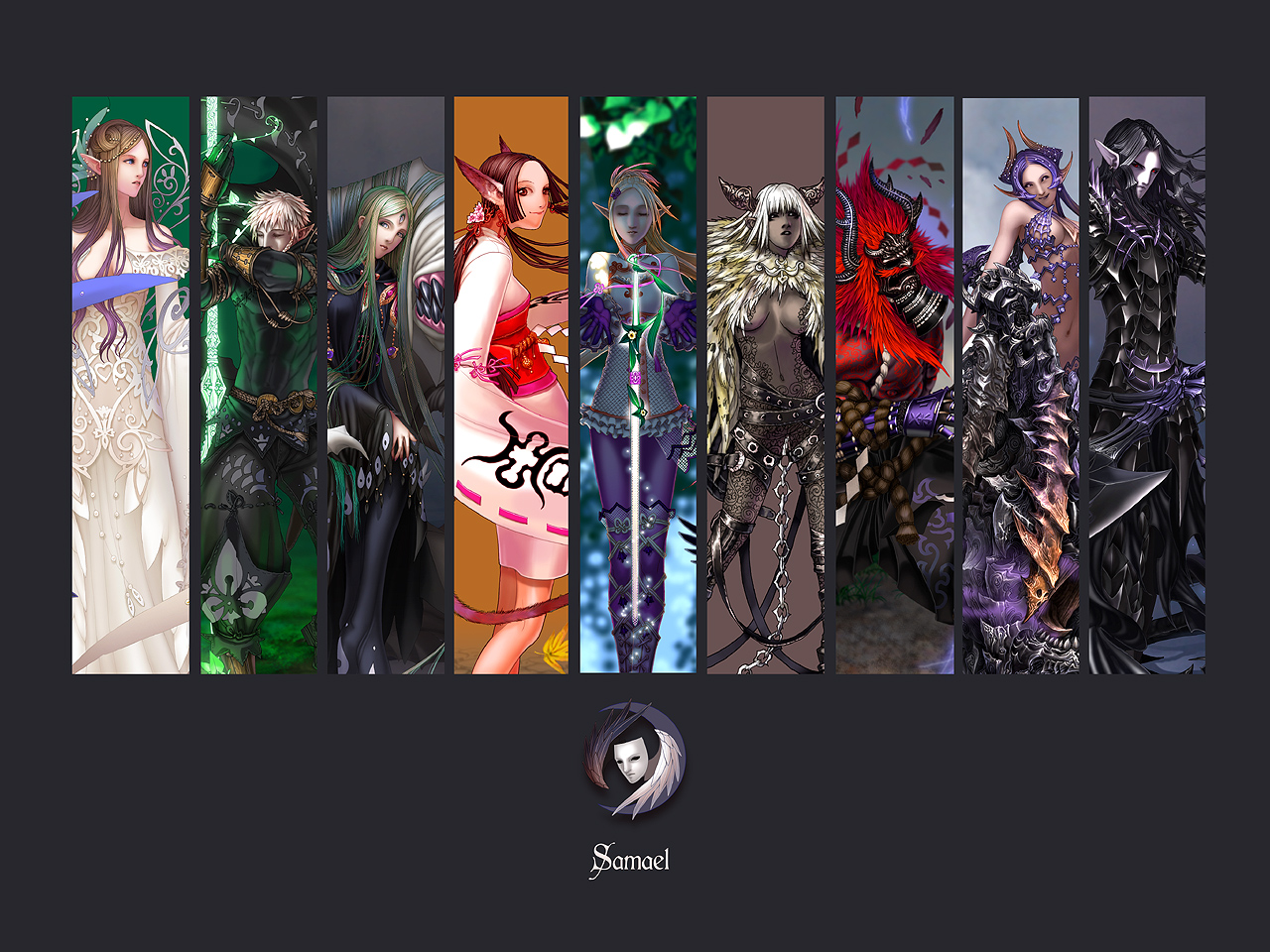 Wallpaper: Samael faction by Wen-M