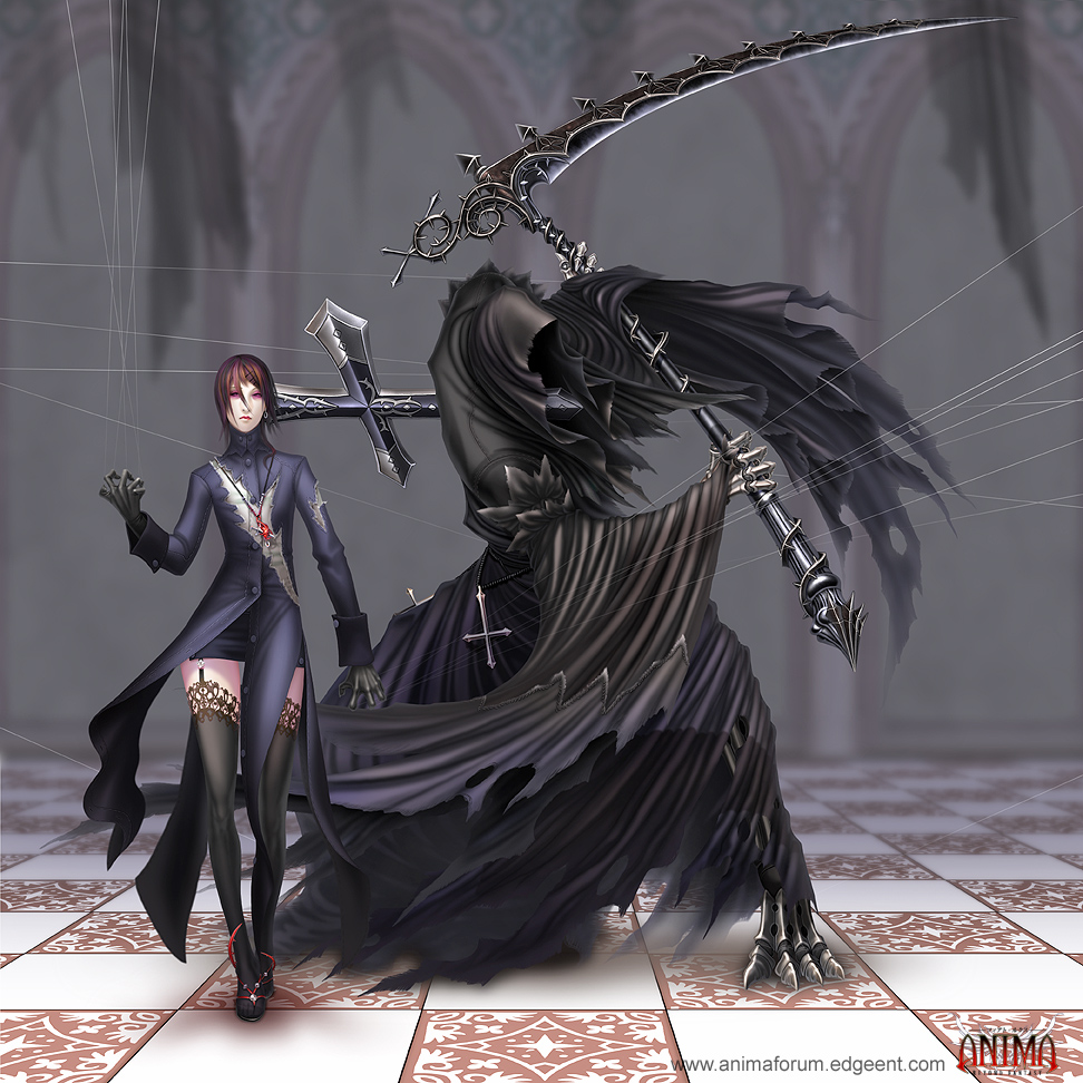 Fantasy Puppeteer Art