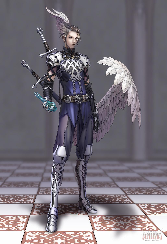 anima: Ebudan warrior by Wen-M