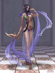 Anima: Dancer girl by Wen-M