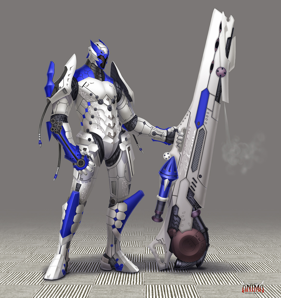 Anima: Imperium Cannon guy by Wen-M