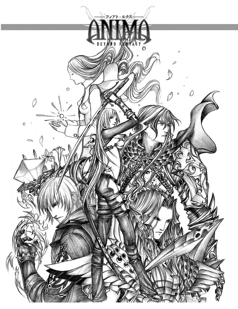 Anima: AT bookcover sketch by Wen-M