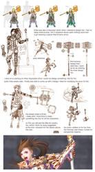Erika design process by Wen-M