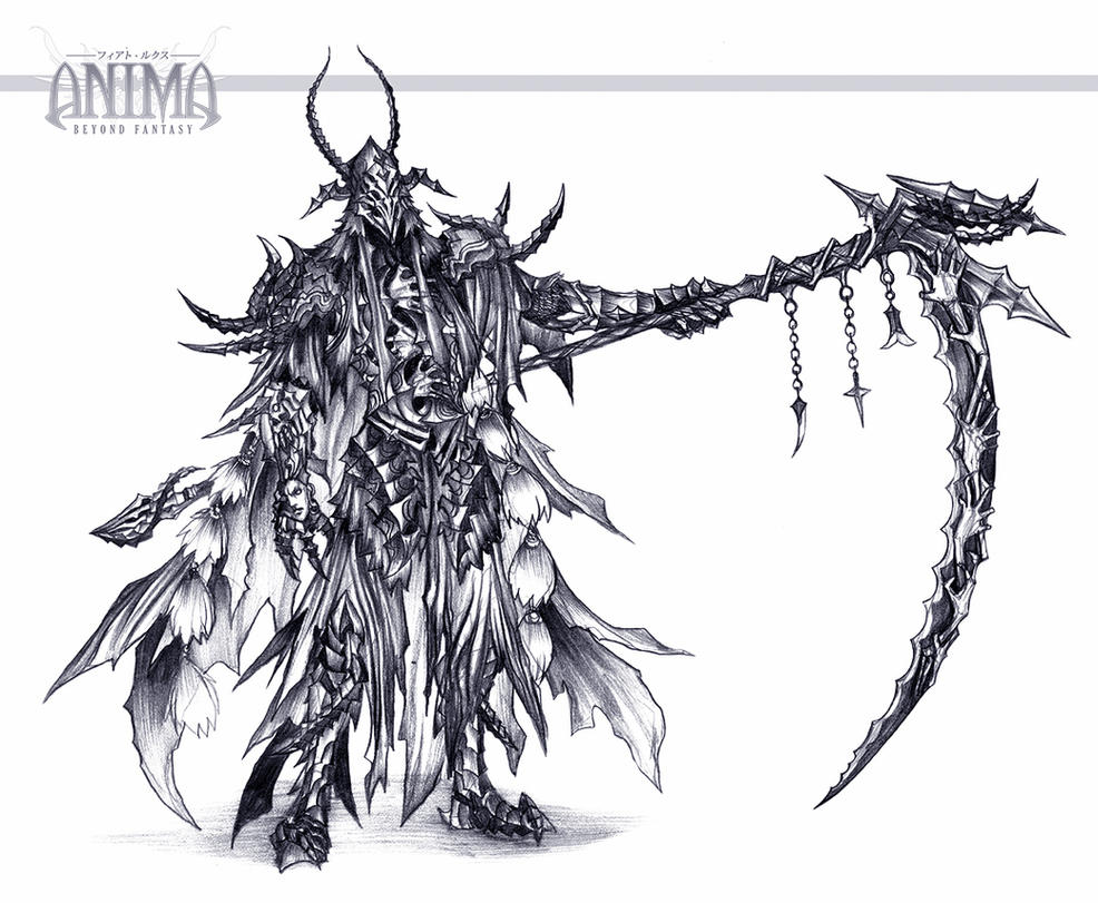 anima: arbiter sketch by Wen-M