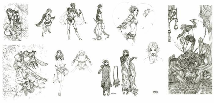 Veronica sketches