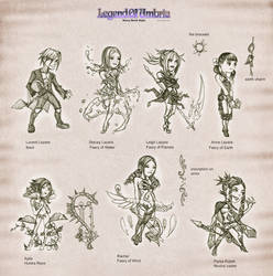 LoUSB: characters set 1 by Wen-M