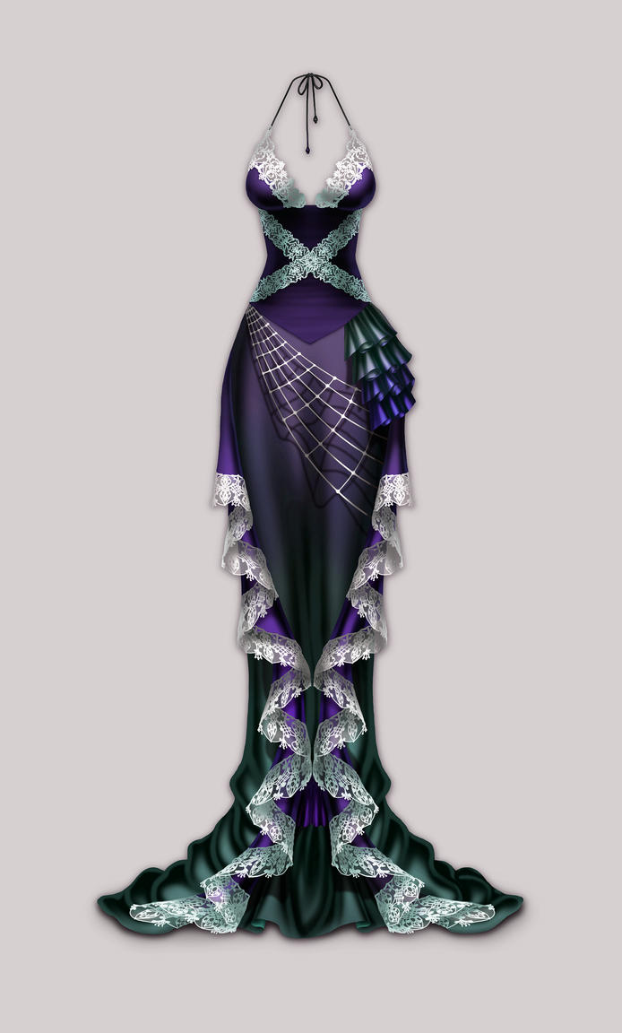 Anima Arachne dress by Wen-M on DeviantArt