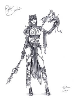Bday sketch: Etna Sinclair
