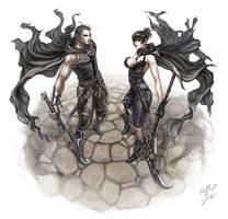 Commission: Mikhail and Yavriya