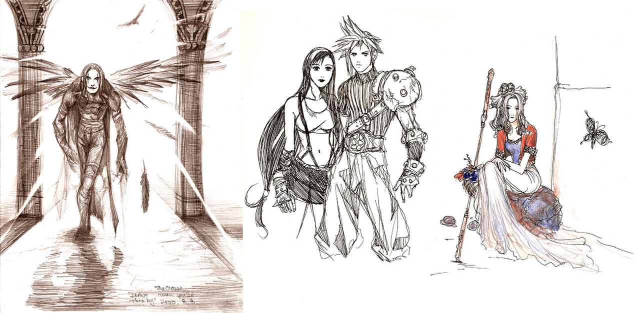 drawings from 2000 by Wen-M