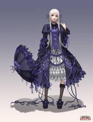Anima: Gothic witch by Wen-M