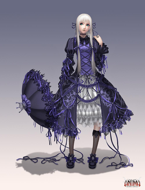 Anima: Gothic witch by Wen-M on DeviantArt