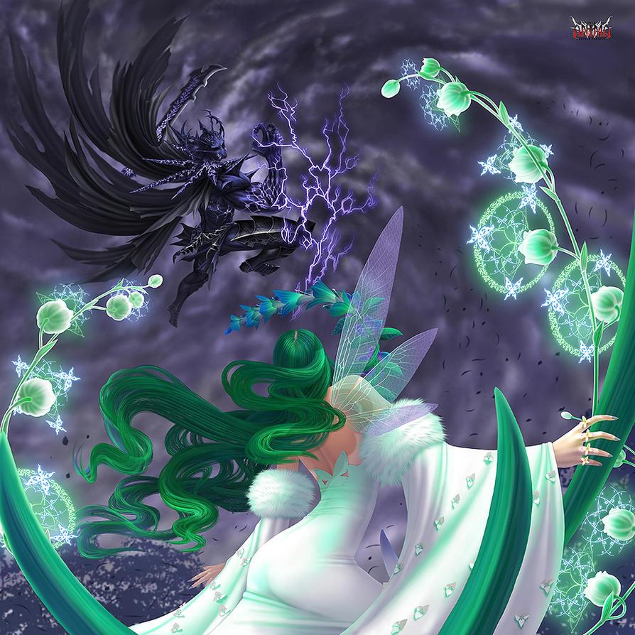 Anima: Nature VS Dark by Wen-M