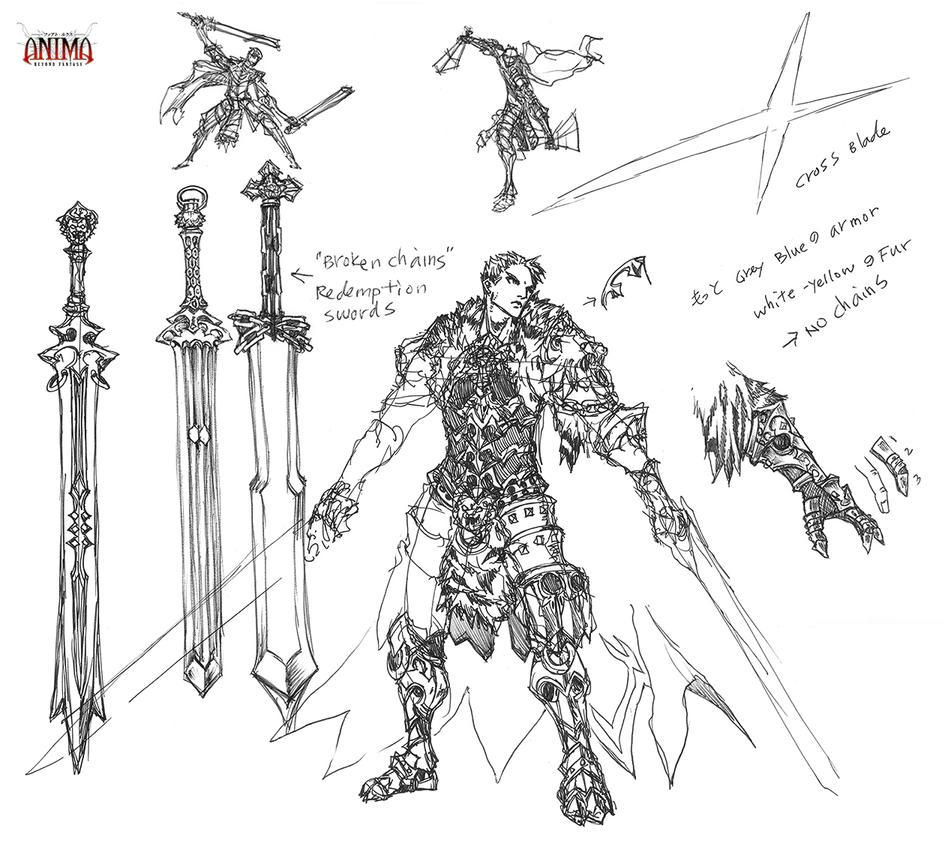 Sketch: Duncan Reid by Wen-M