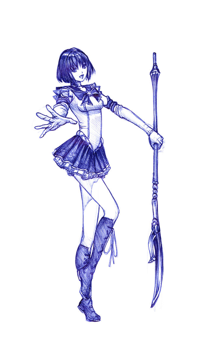 fanart: Sailor saturn by Wen-M
