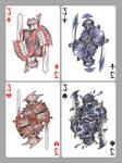 Playing cards: jacks
