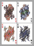Playing cards: Kings