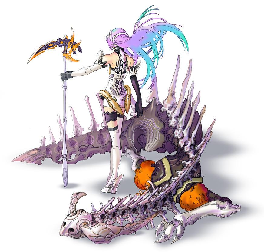 Xenosaga Character Design : Kos mos by wen m on deviantart