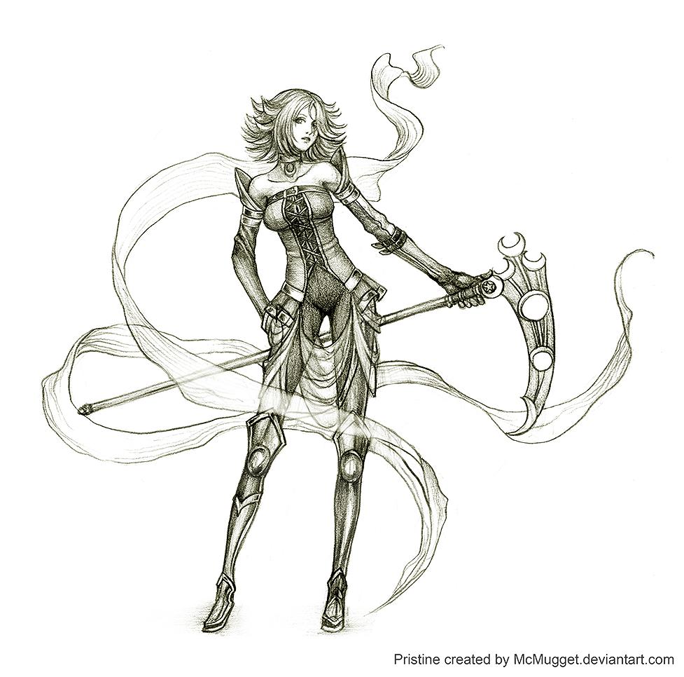 Birthday sketch: McMugget by Wen-M