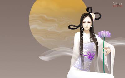 Anima: goddess wall paper