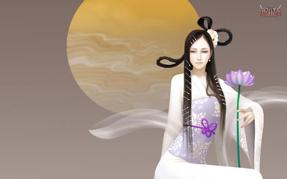 Anima: goddess wall paper by Wen-M