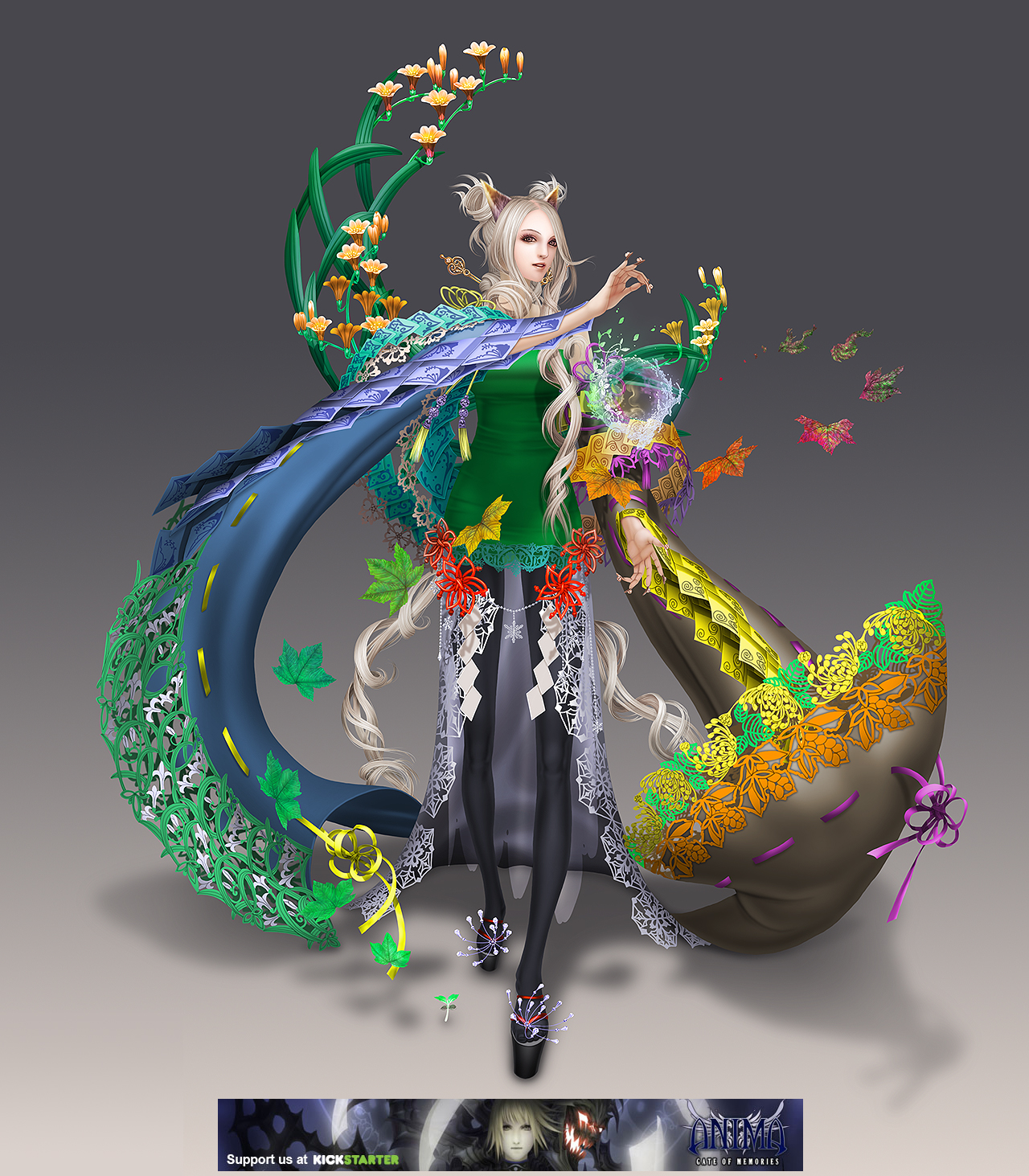 Anima: Lady of the seasons by Wen-M