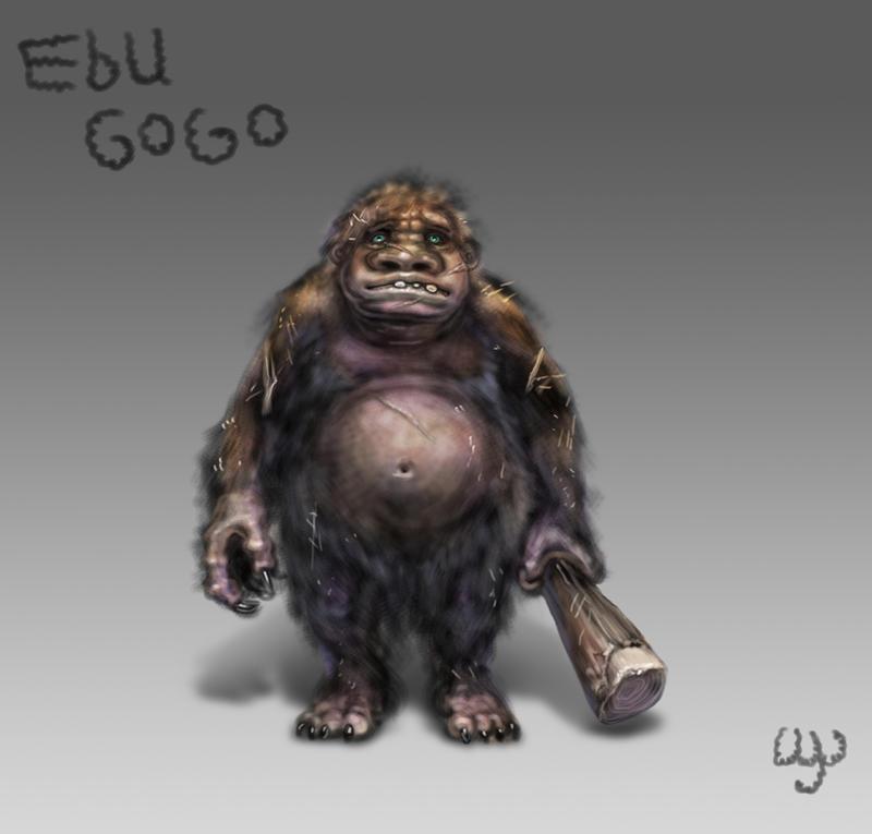 Day 3: Ebu Gogo by Wen-M