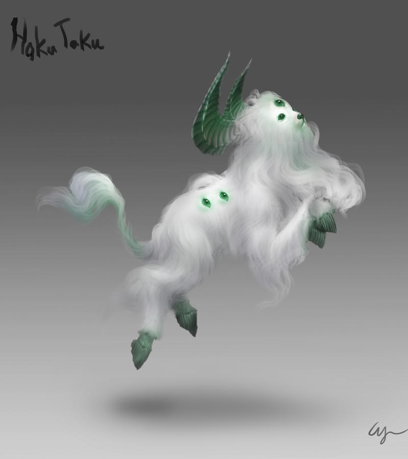 Day 5: Haku Taku by Wen-M